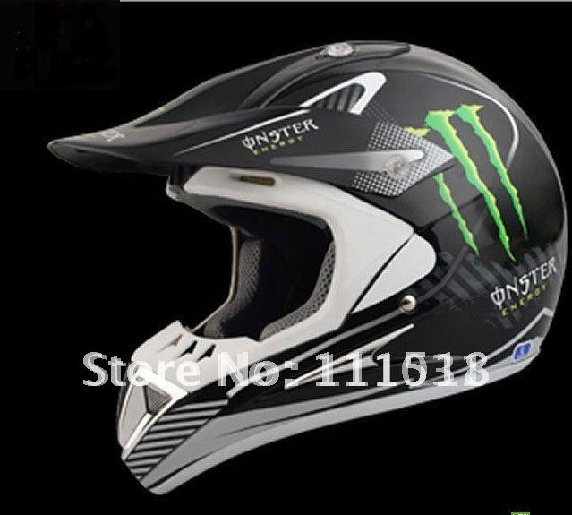 Free Shipping Motocross off-road dirt bike classic racing ghost helmet flame full face helmet