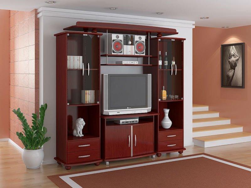 Muebles entretenimiento para sala for Muebles modernos de madera para sala