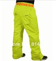 Free shipping 2012 mens snowboarding pants best ski pants men outdoor snow pants bogners ski jupon waterproof breathable