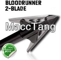 "NAP Bloodrunner Broadheads 125gr 2 Blade 2 1 16"" Cut 3 PK"
