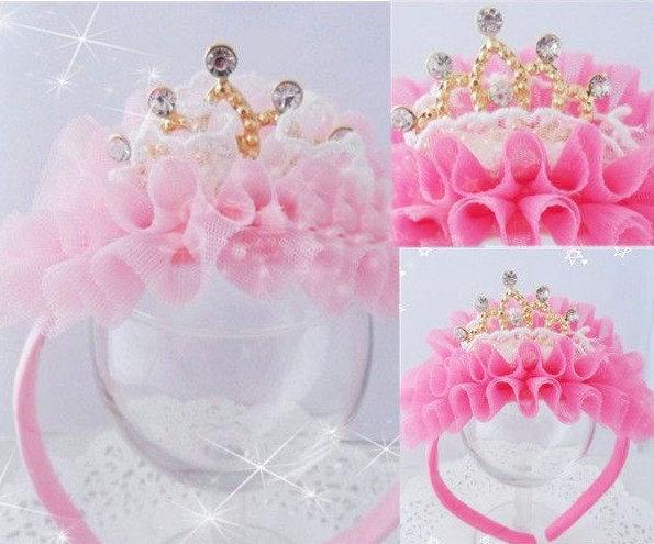 Как сделать корону принцессы своими руками из ленты