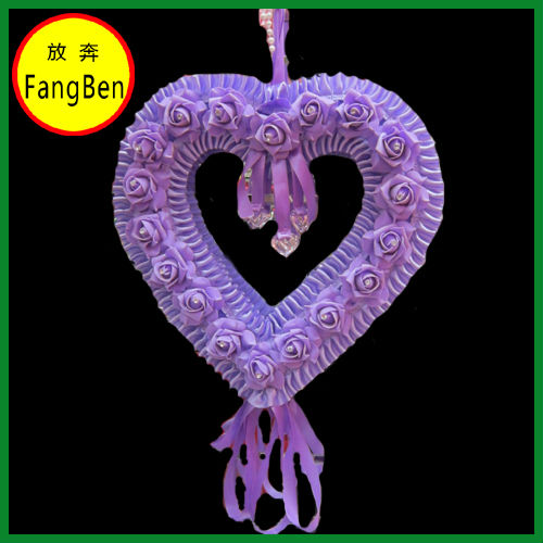 Wedding Heart Shape Artificial Flowers(FB013899)