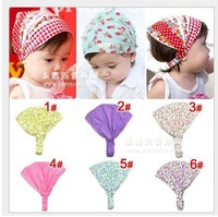Детский аксессуар для волос 12 pcs/lot Printed cotton baby headband infant hairband Girl's Head Accessories Baby hair accessories