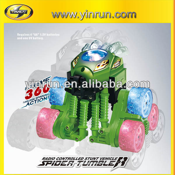 rc spider tumbler car fashion toys for kids