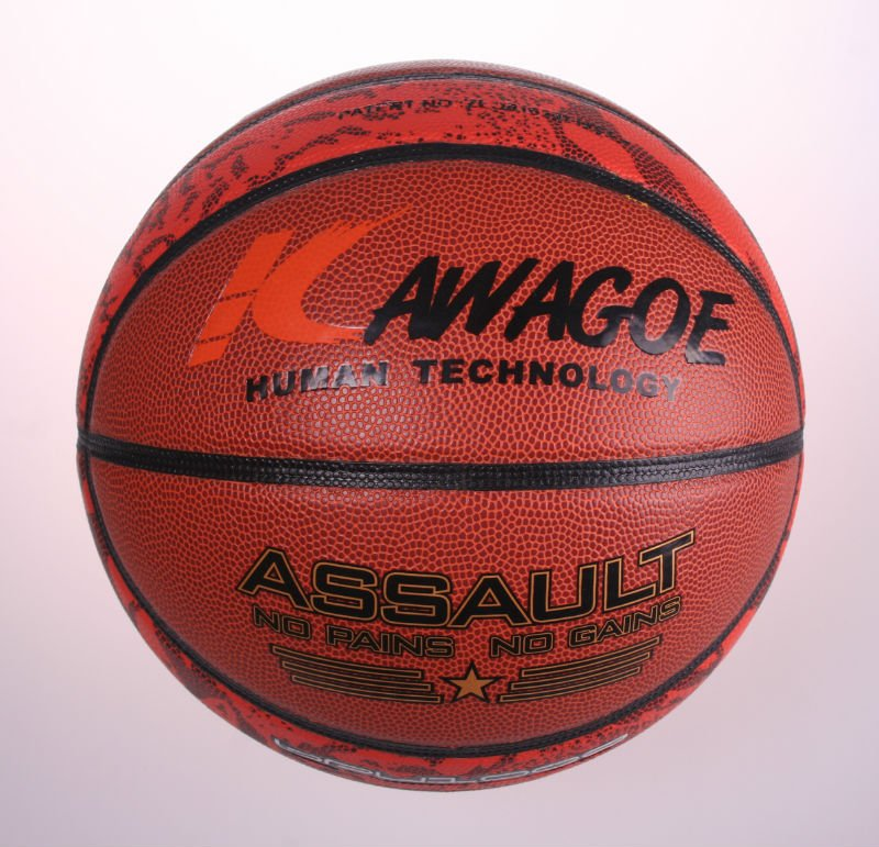 custom classic leather/pu/pvc basketball