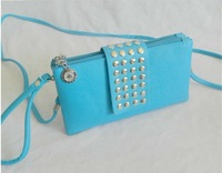 Клатч NEW STYLE LINK IN DESCRIPTION punk rivet style designerhandbag, pu leather women handbags, Clutch bag / Retail