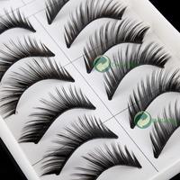 высокое качество] пара 10 eyeye толстые snatchy черные ресницы ресницы тяжелые #ceo