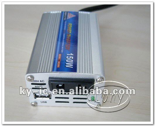 Free shipping 150W DC to AC Modified Sine Wave Mobile Car Power Inverter 150W with USB 5.0V