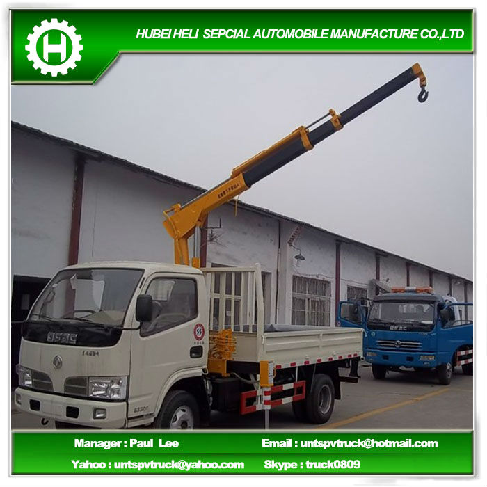 2.3 tons mini truck mounted crane