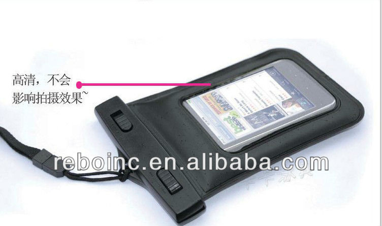 Colorful PVC waterproof bag for phone packing Reboinc-W062