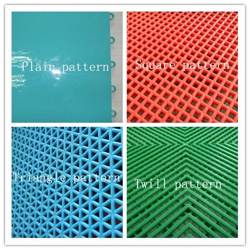 250mm*250mm polypropylene honeycomb flooring