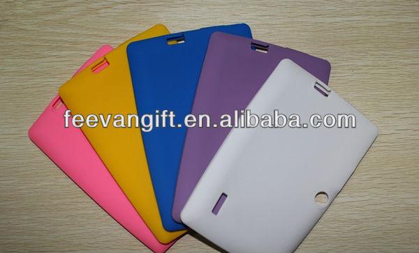 Hot selling fashionable silicone case for mini ipad