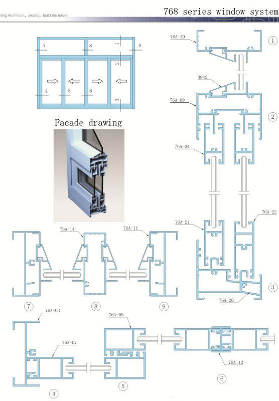 Aluminum Window Details : Aluminum window parts