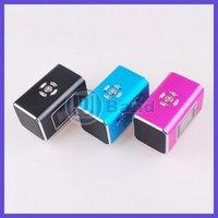 Аудио колонка Mini Speaker TF Micro SD Music Player FM Radio With Screen Sound box DHL