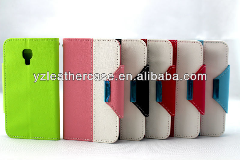 Factory leather cell phone holster cases for s4
