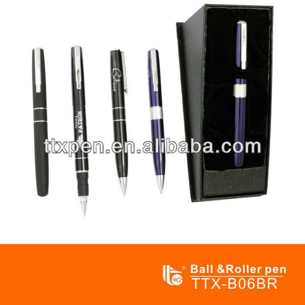 TTX-D02BR Stainess steel free ink roller pen