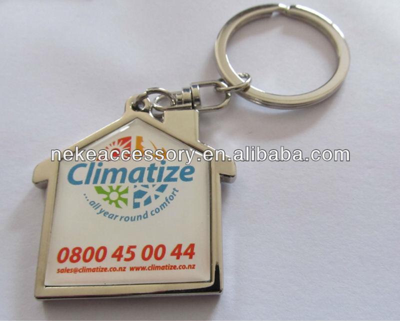 hot selling custom pu or real leather key chain