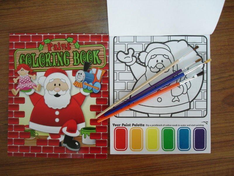 Magic Paint coloring book