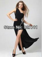 Платье для вечеринки Long Sleeves Evening/Prom Dress Backless Short/Mini Party Dress Discount Ball Gown