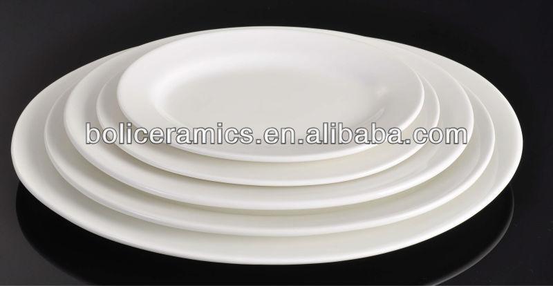hotel porcelain ware dinner plate