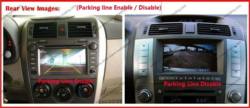 parking line enable