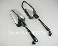 Боковые зеркала и Аксессуары для мотоцикла Universal Motorcycle Rearview Mirror Hond a Kawasaki Suzuki 10mm 8mm Back Mirrors