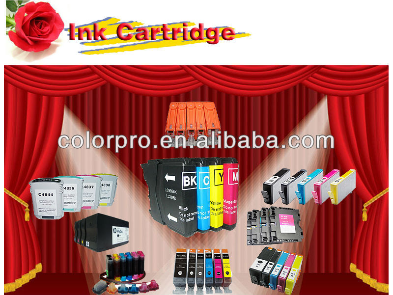 Compatible ink cartridge without chip for Brother LC107/105