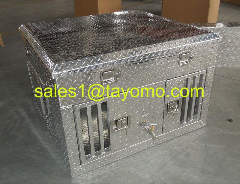 Top Storage Aluminum Truck Dog Box / Dog Cage/ Dog Case/ Dog Shelter
