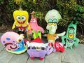 Детский плюшевый рюкзак Baby I4, spongebob ,  PB027 11120