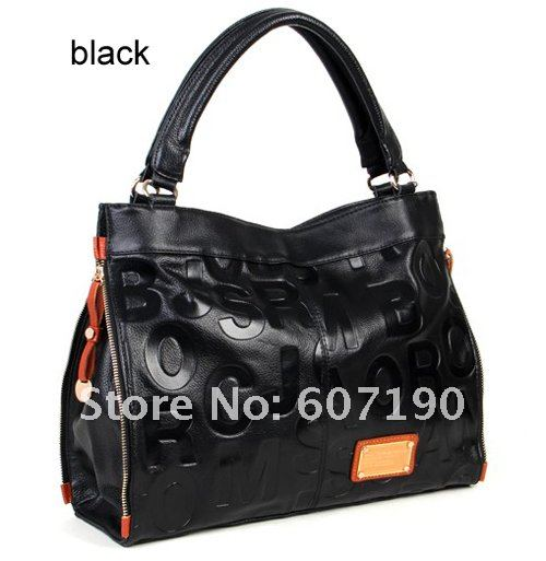 2012 New arrival High quality 100% genuine  leather designer inspired handbags,hotsale tote ladies bags,MBL115,free shipping
