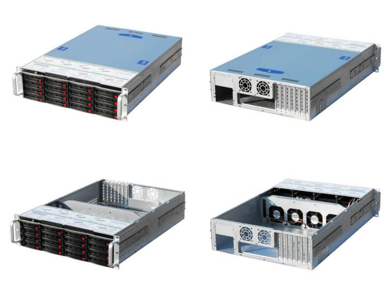 "19"" 3U hot-swap server computer case"