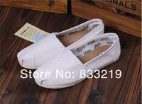 Женская обувь на плоской подошве Retail Fashion Flat Casual Canvas Shoes Mix color Unisex Classic Canvas Espadrilles Shoes Plain Casual Sneakers women and man