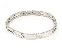 Браслет из нержавеющей стали Silvery 316L stainless stell bracelets 12pcs/Lot