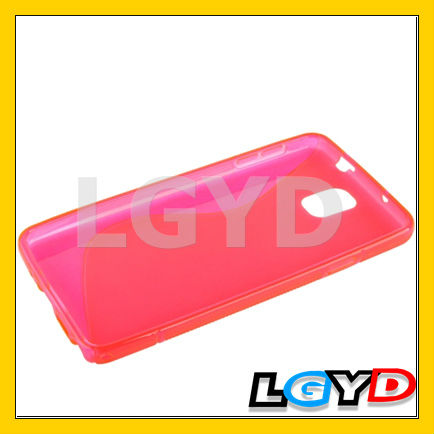 2013 New design S Line Anti-skid TPU Protective cheap mobile phone Case for Samsung Galaxy Note III (Black)