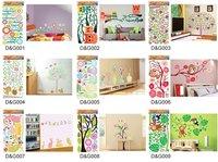 Стикеры для стен Wenlai , /& , HL1233, SIZE33 * 60 10pcs/lot