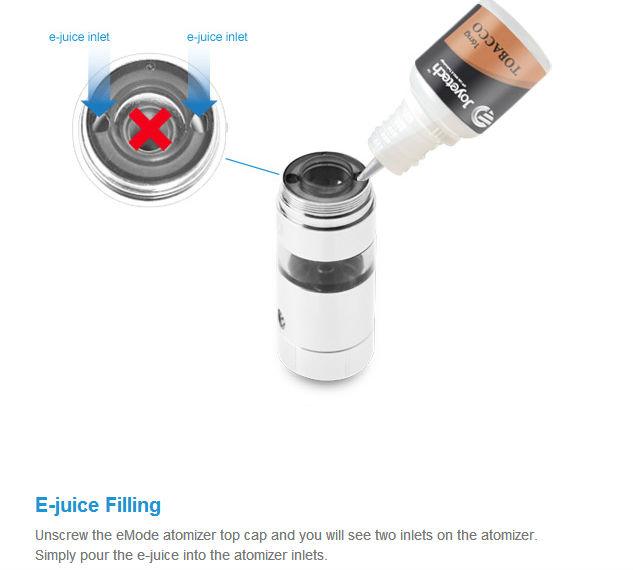 2013 high grade joyetech eMode kit e-cigarette