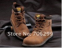 Мужские ботинки Men tube cowboy boots winter army boots