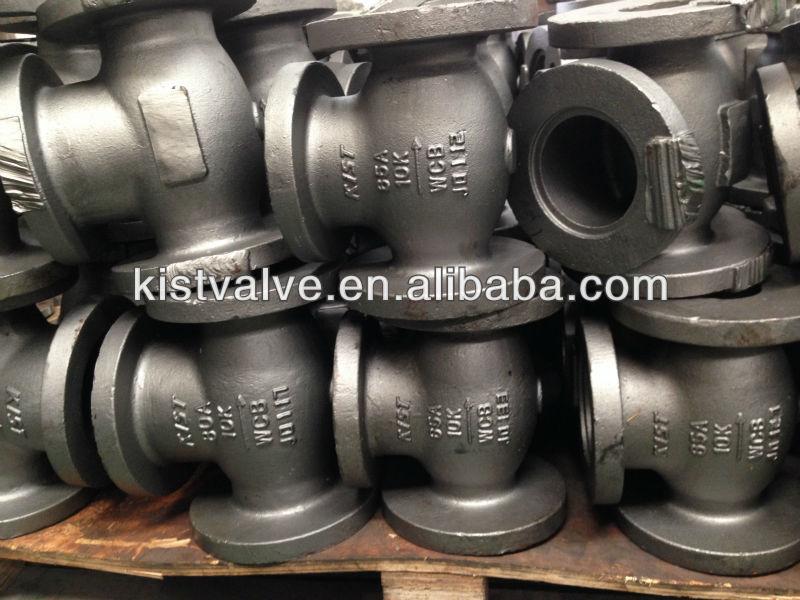 JIS 10K Cast Steel Globe Valve