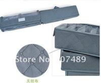 Бокс для хранения 3in1 3pc/set foldable Bamboo Charcoal fibre storage bag box case organizer with cover bra, underwear, necktie, socks