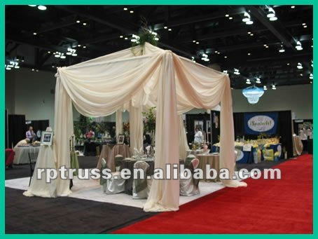 Drape support and Pipes for tent for wedding