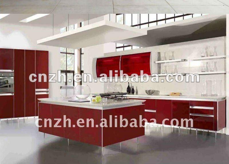 Mobili Moderni Cucina : Moderni mobili da cucina con porta pannelloin ...