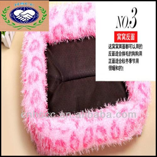 China Wholesale 100% Novelty Rectangle Winter Small Dog Bed