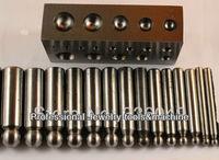 Дапинг штампов и блок, плоские Дапинг блок для ювелирных изделий, ювелирных инструментов, ювелирных изделий поставок, гравировка инструмент