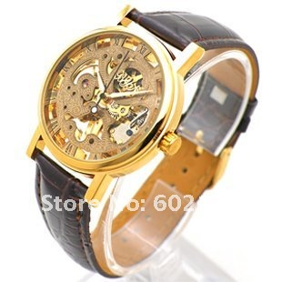 FREE SHIPPER ,MEN'S AUTOMATIC WATCH, 6 HANDS MULTYFUNCTION MECHANICAL WRIST WATCH, HOT SALE