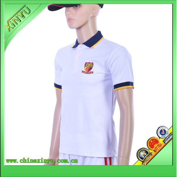Embroidery polo shirts online shopping for wholesale clothing