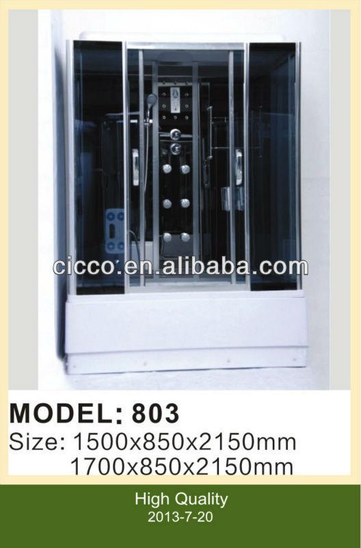 China sliding glas douche kamer leveranciers en fabrikanten fabriek cicco - Douchekamer model ...