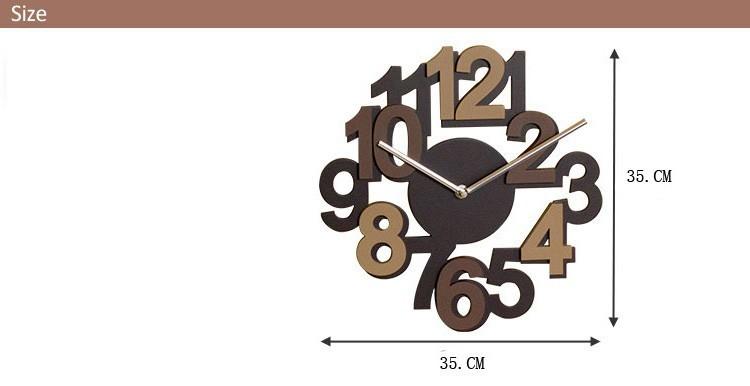 Настенные часы 3D Digitals