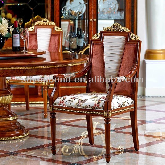 0038 Royale H Tre Bois Massif Classique De Luxe Salle Manger Meubles Antique Italie Mobilier