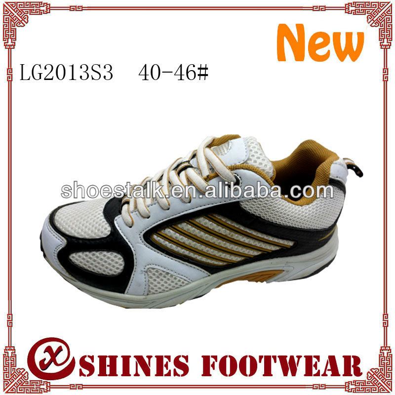 Latest top selling TPR sole basketball sport shoes men