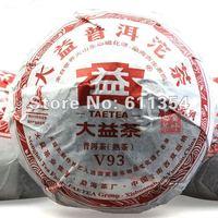 Чай Пуэр puer tea premium Da Yi Si Gong V93003 Pu-erh ripe Tea cake 100g